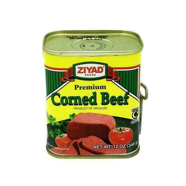 Ziyad Halal Meat, Corned Beef 12oz