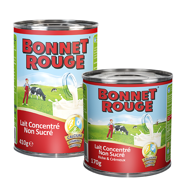 Bonnet Rouge Concentrated Milk Unsweetened - 410G