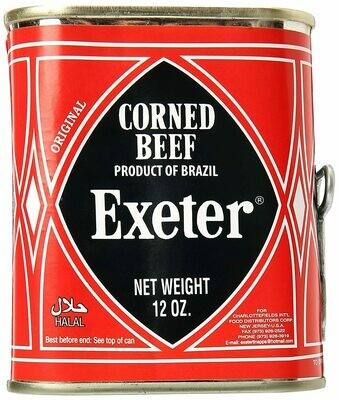 Exeter Halal Meat, Corned Beef 12oz