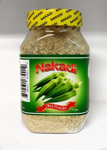Nakadi Okra Powder – 17.50oz