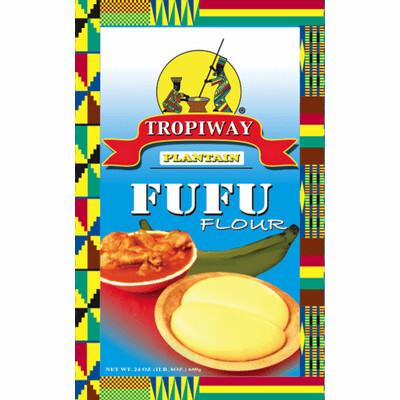 Tropiway Plantain Fufu Flour  24oz