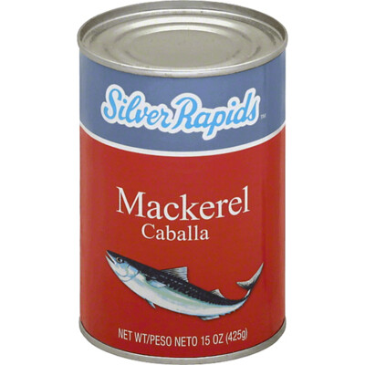 Silver Rapids Mackerel 15oz