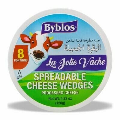 Byblos La Jolie Vache cheese - 8 Pcs