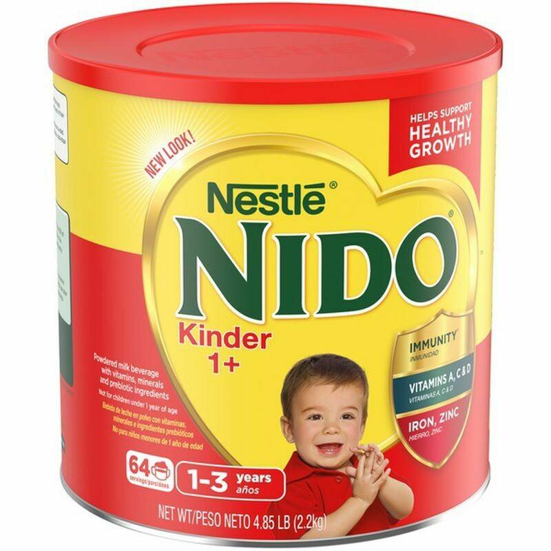 Nestle Nido Kinder 1+ Powdered Milk 4.85 lbs (2.2kg)