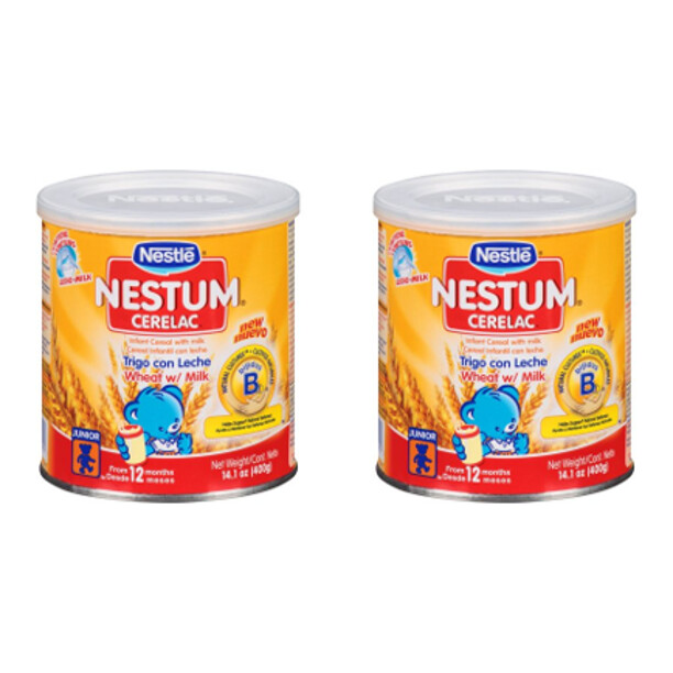 Nestum Cerelac Wheat Infant Cereal with Milk 14.1 oz
