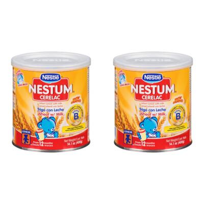 Nestum Cerelac Wheat Infant Cereal with Milk 14.1 oz