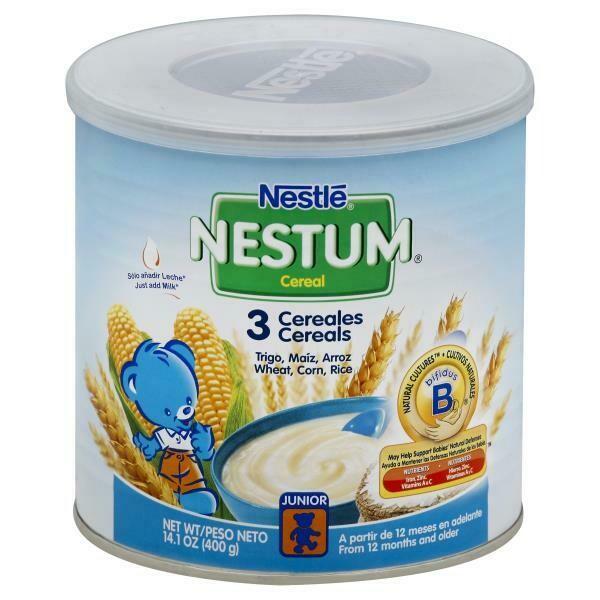 Nestle Nestum Cereal, 3 Cereal 14.1 oz  (400g)
