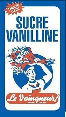 Le Vainqueur Sucre Vanilliné  5gX100 Pcs