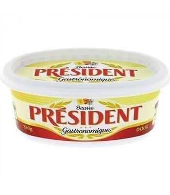 President Unsalted Butter  250 G