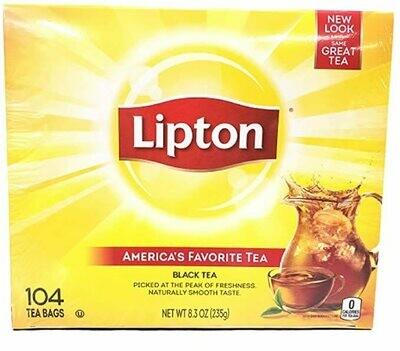 Lipton Tea Bags, Black Tea, (104 Tea Bags)