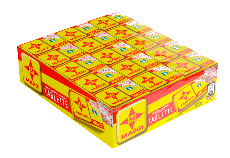 MAGGI HALAL CUBES TABLETTE 600G