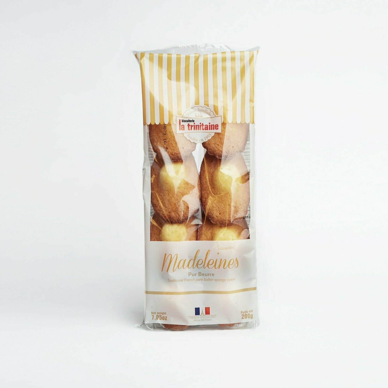 LA TRINITAINE Pure Butter Madeleine Plain (200g)