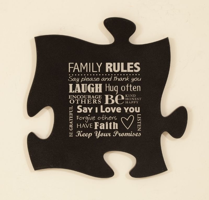 Family Rules Puzzle Piece