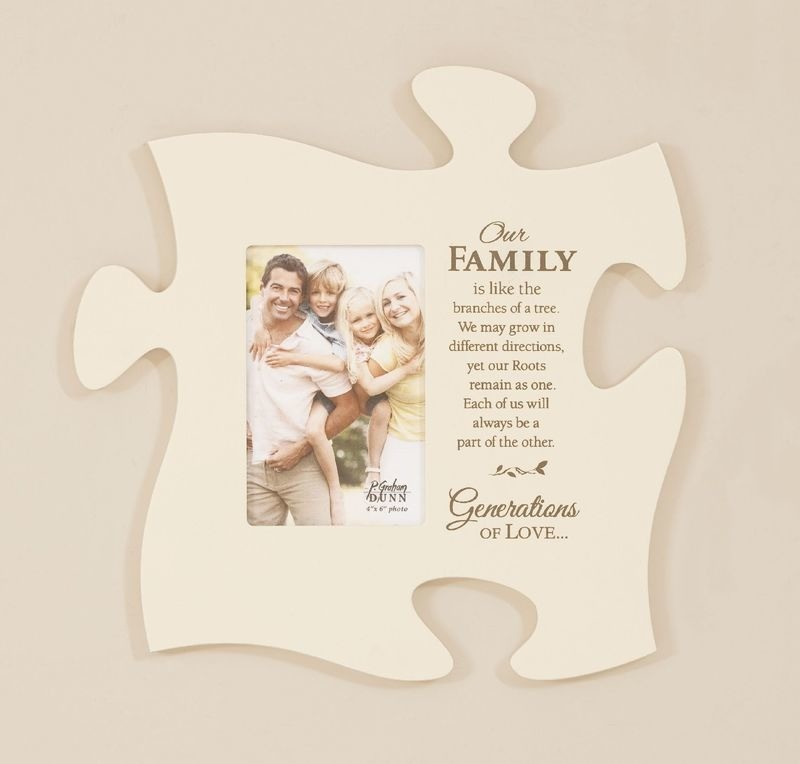 Our Family Puzzle Piece