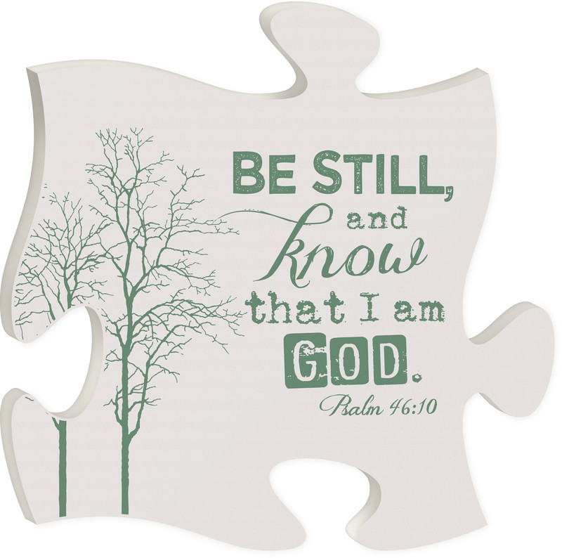 Be Still Puzzle Piece