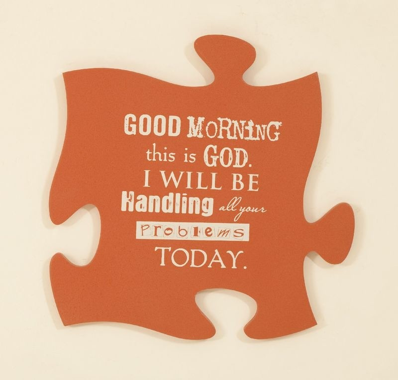 Good Morning Puzzle Piece