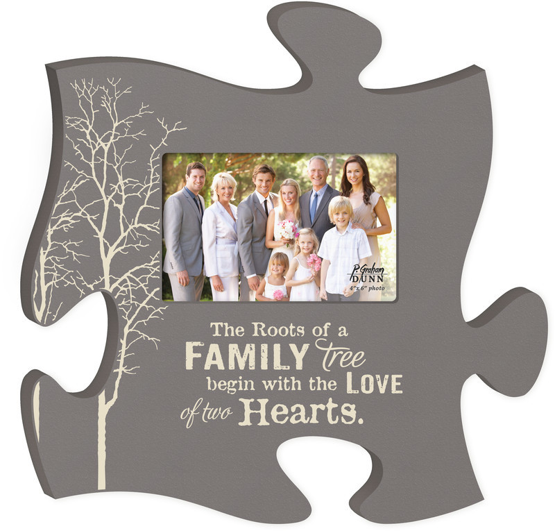 The Roots Of A Family Puzzle Piece
