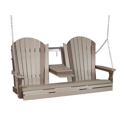 Poly 5' Adirondack Swing