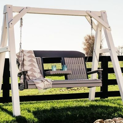 Poly 5' Classic Highback Swing