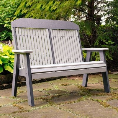 Poly 4' Classic  Bench