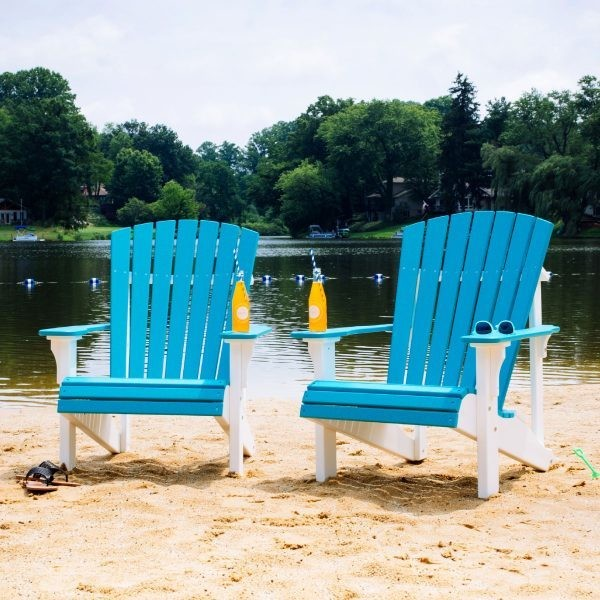 Luxcraft Poly Deluxe Adirondack Chair  -  FREE  SHIPPING