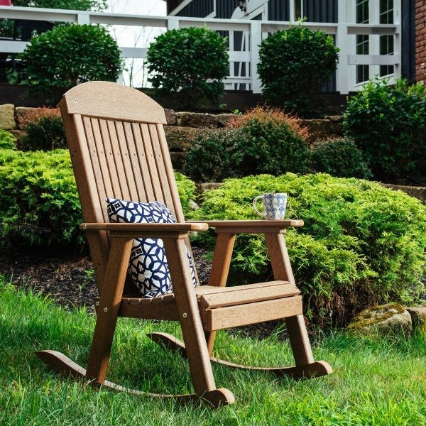 Luxcraft Poly Porch Rocker  -  FREE SHIPPING