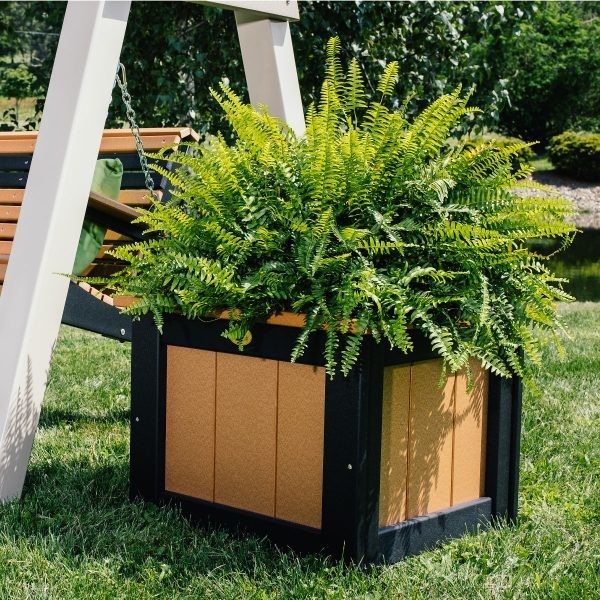 """Luxcraft 24"""" Square Planter  -  FREE SHIPPING"""