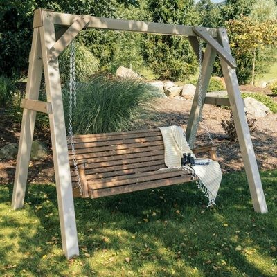 Vinyl A-Frame Swing Stand - Clay