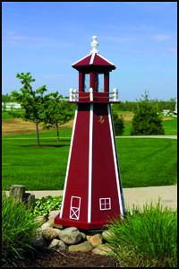 Wood 4' Standard Lighthouse