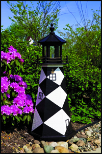 "Wood 18"" Cape Lookout Lighthouse"