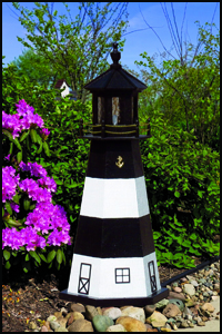 "Wood 18"" Fire Island Lighthouse"
