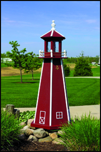 Wood 4' Standard Lighthouse