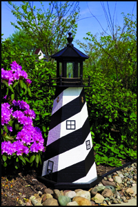 "Wood 18"" Cape Hatteras Lighthouse"