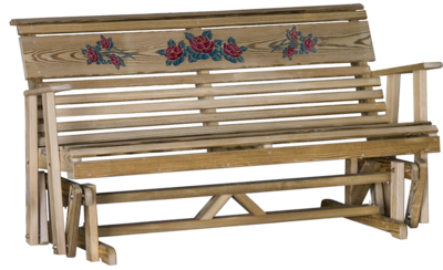 Wood Rollback Rose Glider