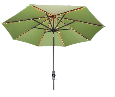 9' Single Starlight Martket Umbrella