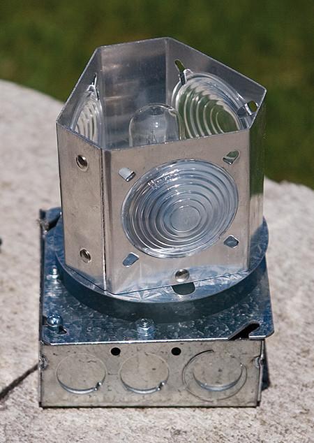 Lighthouse Revolving Light Fixture