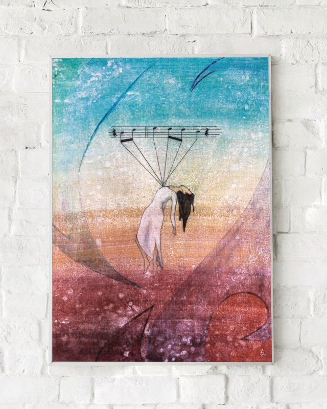 Psalm 103 :: 11in x 16in Canvas Prints