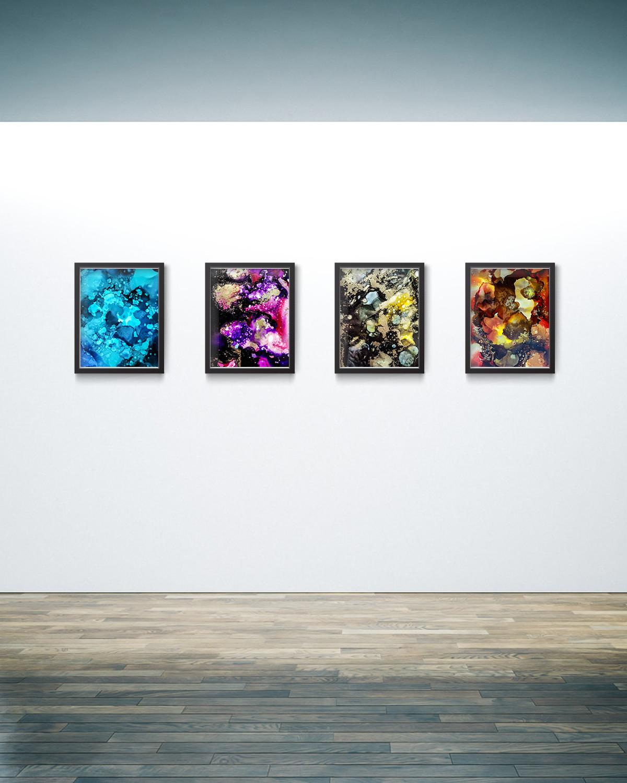 Four Seasons :: 8in x 10in
