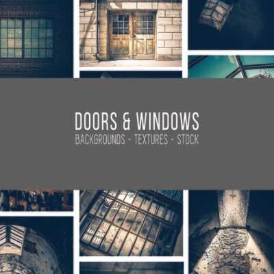Doors & Windows :: Stock Photography Bundle