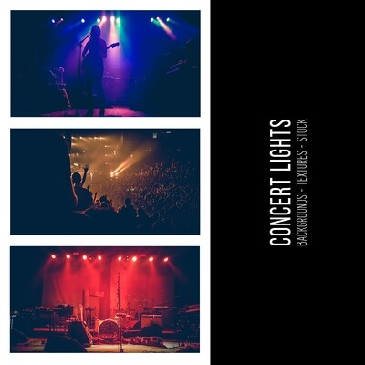 Concert Lights :: Stock Photography Bundle