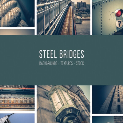 Steel Bridges :: Stock Photography Bundle