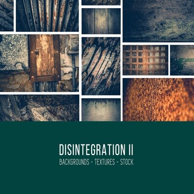 Disintegration II :: Stock Photography Bundle