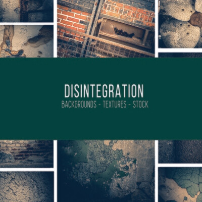 Disintegration :: Stock Photography Bundle