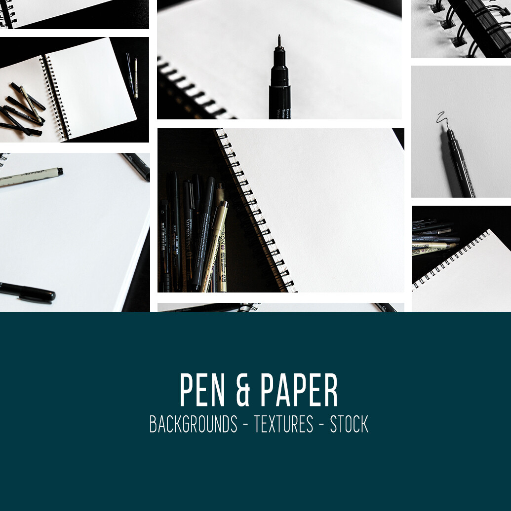 Pen & Paper :: Stock Photography Bundle