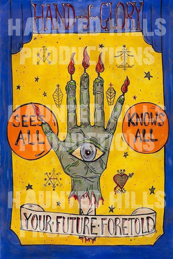 Hand of Glory Vinyl Poster