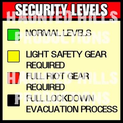 Security Vinyl Poster
