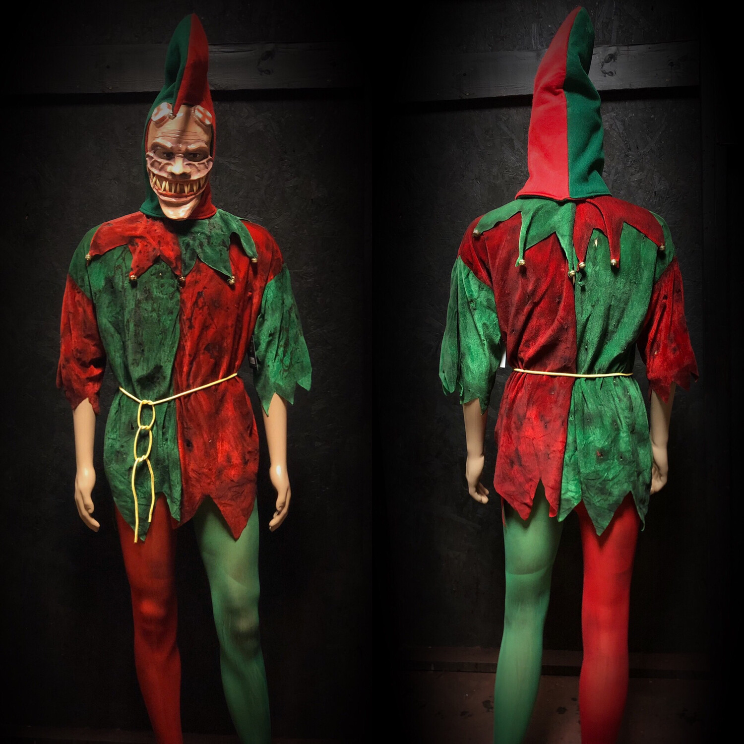 Elf Costume With Mask