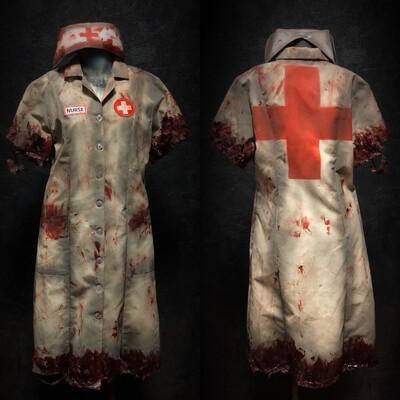 Deluxe Nurse Costume