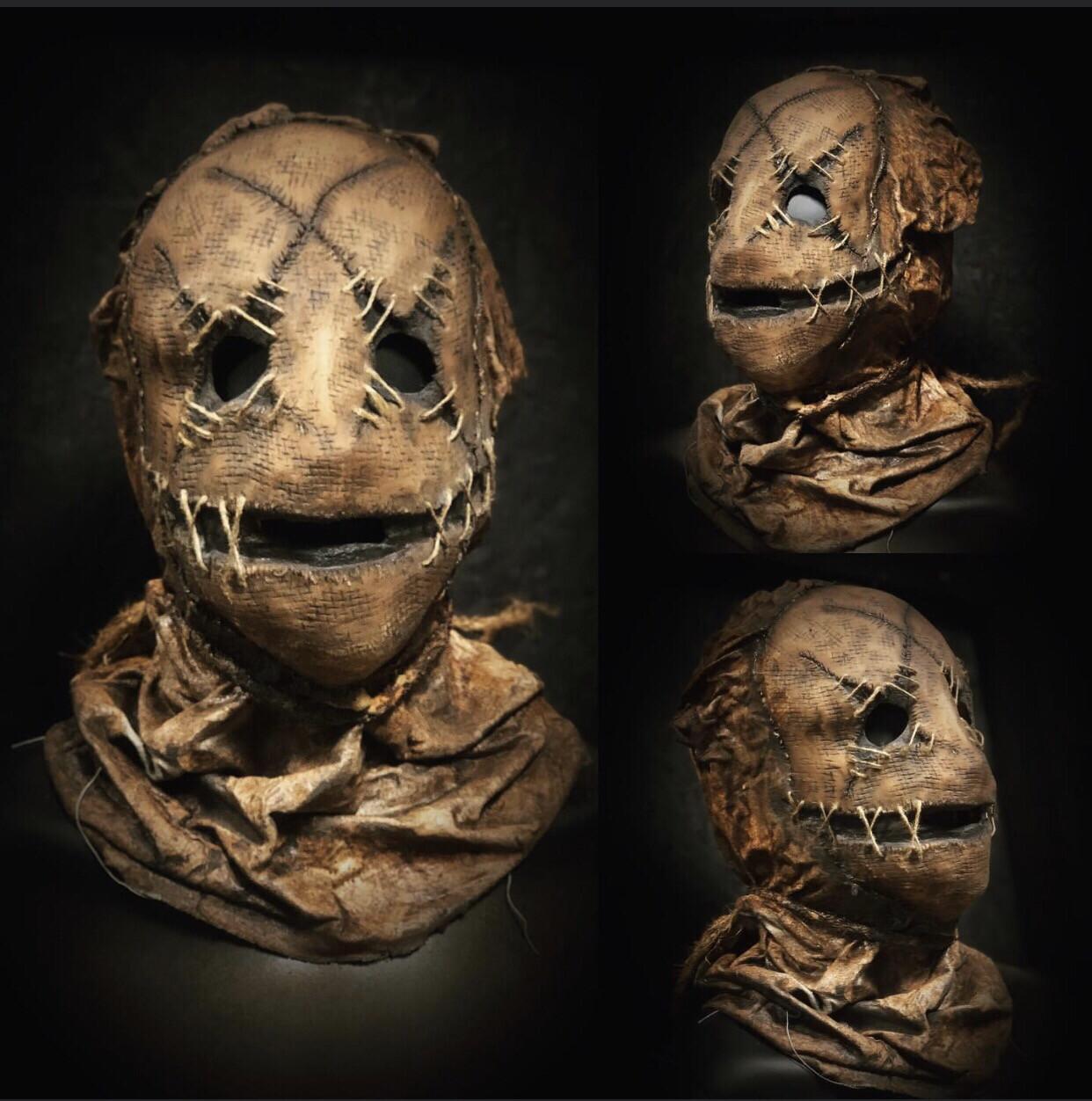 Voo Doo Doll Mask