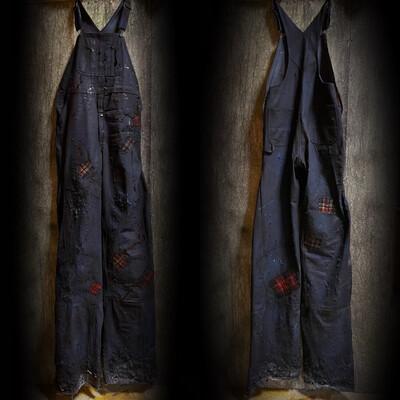 Bib Overall Stilt Pants